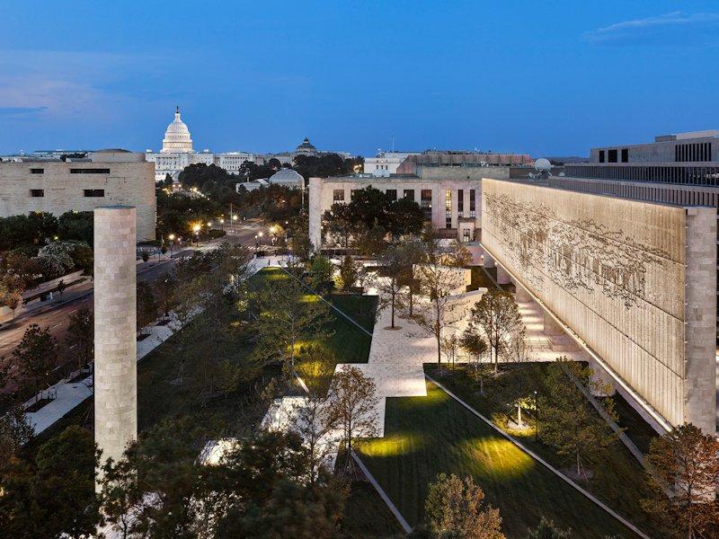 Eisenhower Memorial, Gehry Partners