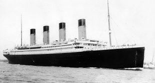 El RMS Titanic zarpando de Southampton el 10 de Abril de 1912. CP/WikiCommons
