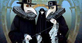 Los médicos se protegían de la peste mediante un gabán encerado y una máscara. También las esponjas empapadas en vinagre ayudaban, al parecer, a evitar el contagio. WikiCommons