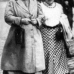 Clara Zetkin y Rosa Luxemburg en 1910