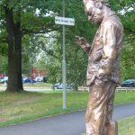 Estatua de Willy Brandt en Estocolmo. WikiCommons