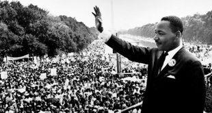 Martin Luther King en la Marcha sobre Washington D.C. Por los Derechos Civiles 28 de agosto de 1963. WikiCommons