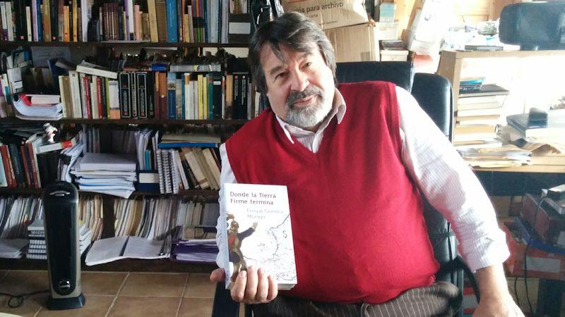 """Presentación del libro: """"Donde la Tierra Firme termina"""" de Enrique Gomáriz"""