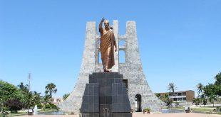 Memorial a Kwame Nkrumah en Accra. WikiCommons