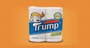 Mexicano crea papel higiénico marca 'Trump' para apoyar a los inmigrantes