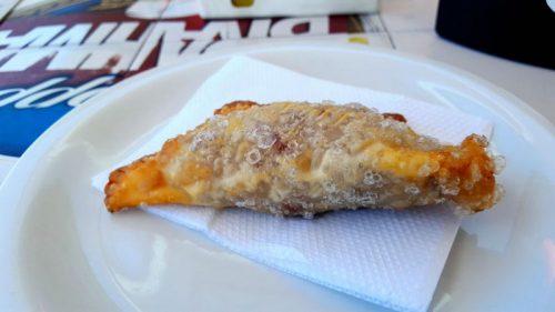 pastel de carne seca com catupiry