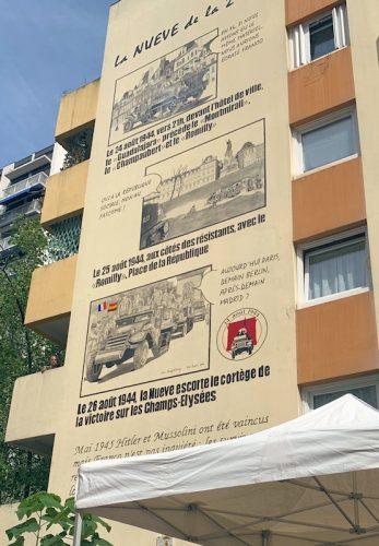 Mural La Nueve