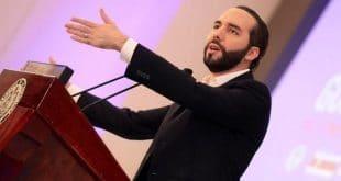 Nayib Bukele presidente de El Salvador. CP/Web