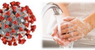 La calidad del agua en el lavado de manos
