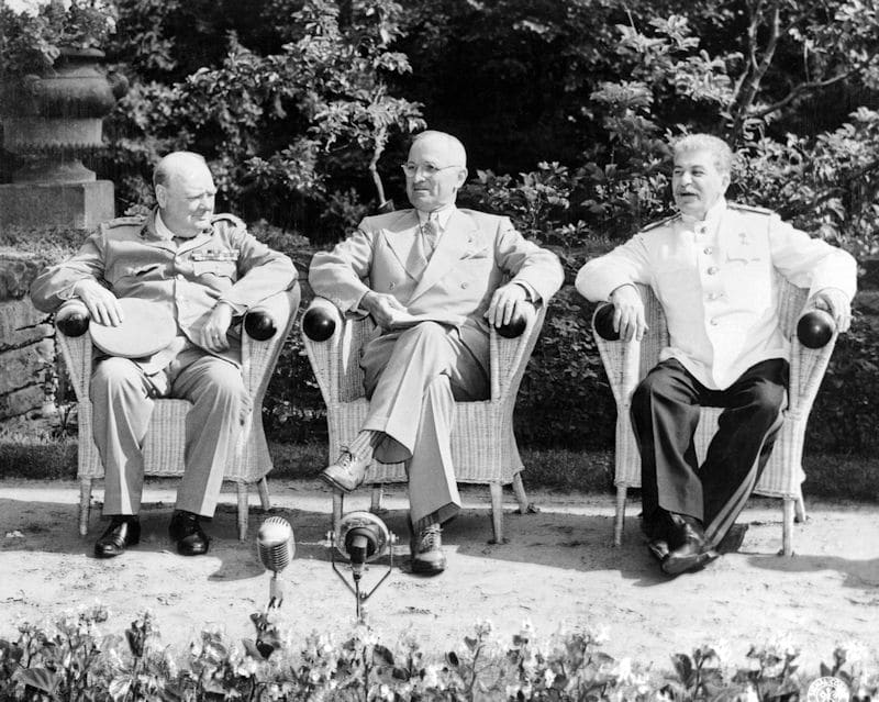 Churchill, Truman, Stalin: Potsdam rememora la Conferencia de 1945