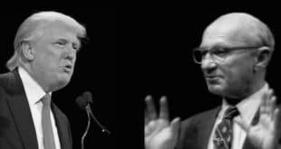 Friedman y Trump, uno contento y el otro feliz