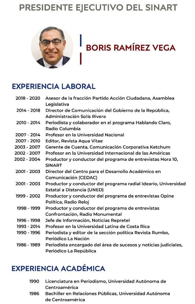 Boris Ramírez Vega