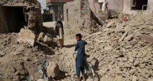 Afganistán, solo desierto y sangre