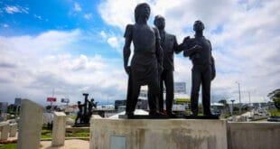 Monumento Garantías Sociales. Foto Julieth Méndez